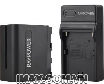 Bộ 1 pin 1 sạc Ravpower cho Sony NP-F970