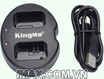 Sạc đôi Kingma cho Panasonic DMW-BLF19