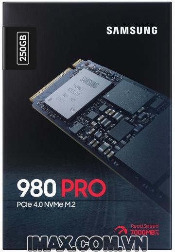 Ổ cứng SSD M2-PCIe 250GB Samsung 980 PRO NVMe 2280