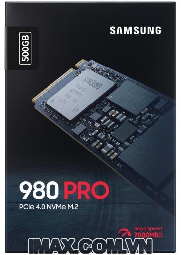 Ổ cứng SSD M2-PCIe 500GB Samsung 980 PRO NVMe 2280