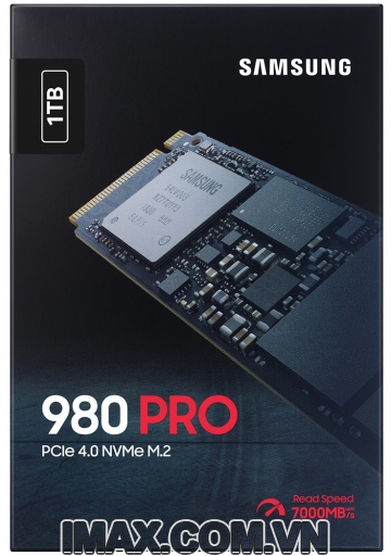 Ổ cứng SSD M2-PCIe 1TB Samsung 980 PRO NVMe 2280