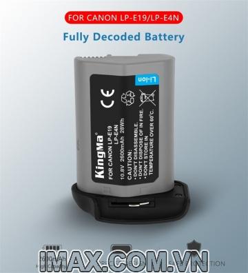 Pin Kingma for Canon LP-E19, LP-E4N