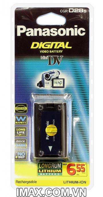 Pin máy quay CGR-D28S, Dung lượng cao
