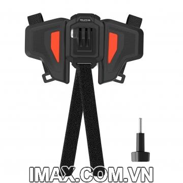Bộ gắn GoPro và Action Cam lên cằm mũ bảo hiểm Fullface Telesin