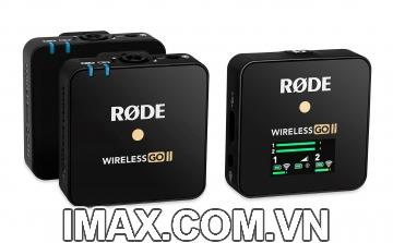 Micro thu âm không dây RODE Wireless GO II Chính hãng