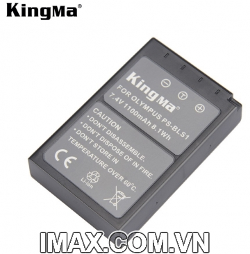 Pin máy ảnh Kingma for Olympus BLS1/BLS5