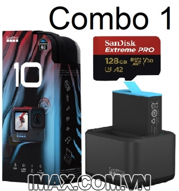 Combo 1: Gopro Hero 10 Black + Quà tặng