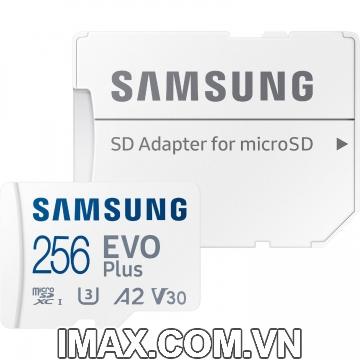 Thẻ nhớ Samsung Micro SDXC EvoPlus 256GB 130 Mb/s