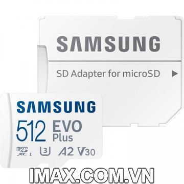 Thẻ nhớ Samsung Micro SDXC EvoPlus 512GB 130 Mb/s