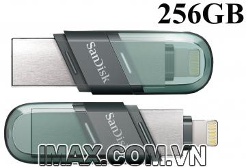 USB OTG 256GB Sandisk iXpand Flip for Iphone Ipad
