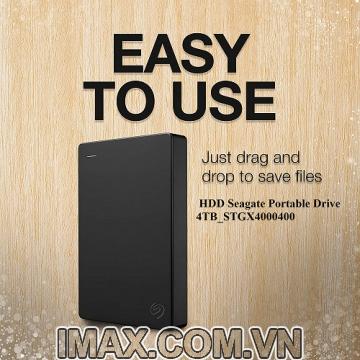 Ổ cứng di động HDD 4TB Seagate Portable Drive STGX4000400